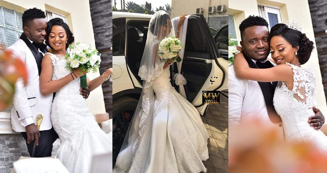 """A relationship that started at a motor park has been sealed""- Nigerian couple wed 7 years after they met at a motor park (PHOTOS)"