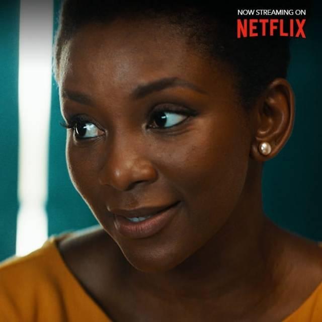 Keri Washington congratulates Genevieve Nnaji