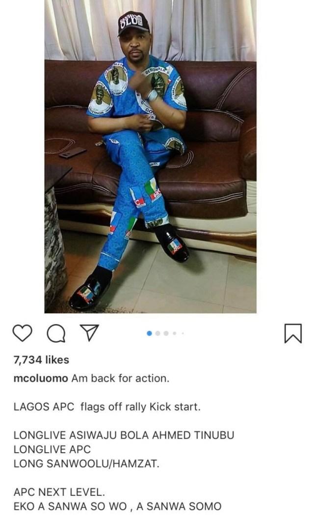 MC Oluomo stabbed