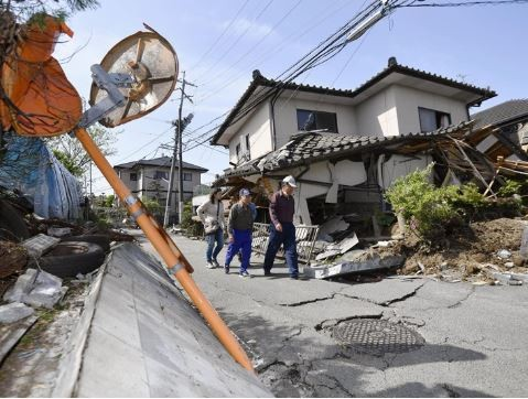 5.0 magnitude earthquake hits Japan's Kumamoto