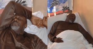 Dino Melaye speaks from hospital bed