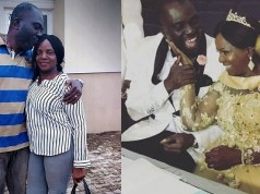 Simi's mom celebrates first wedding anniversary