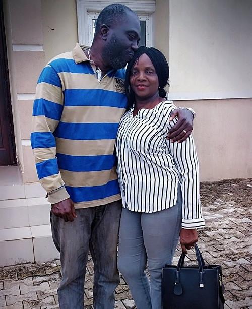 Simi's mom celebrates first wedding anniversary