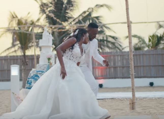 Adekunle Gold releases wedding video