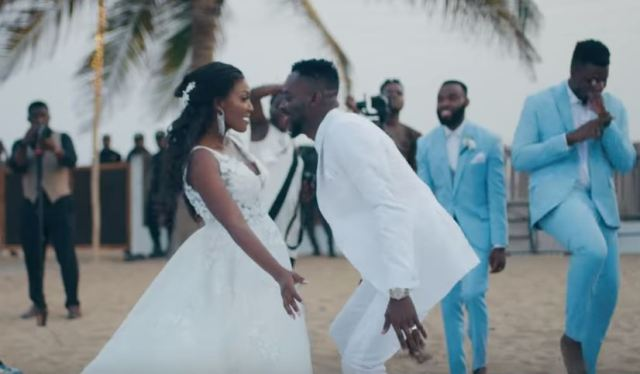 Adekunle Gold releases wedding video