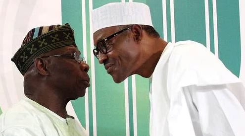 """You're a coward and I'll teach you a lesson"" – Buhari replies Obasanjo"