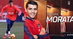 Alvaro Morata joins Atletico Madrid