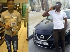 Nigerian man slumps