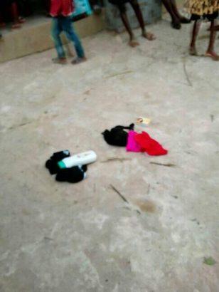 Man caught stealing panties and bras