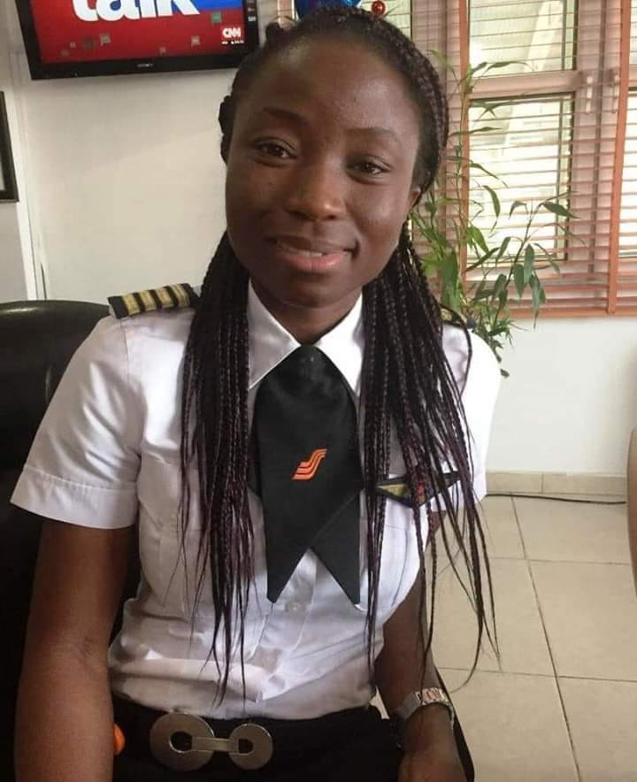 Young Female Captain Appointed As Chief Pilot By Nigerian Airline