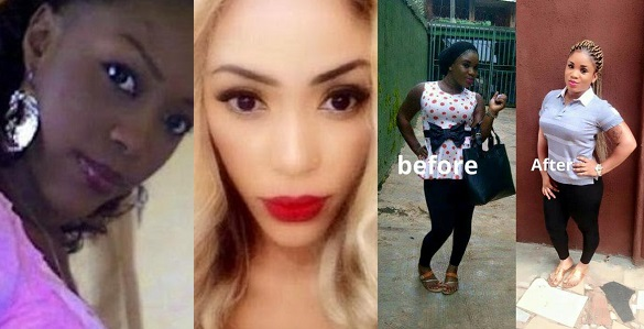 Image result for #10YearChallenge gone wrong! Lady's boyfriend ditches her after seeing she was 'dark' 10 years ago