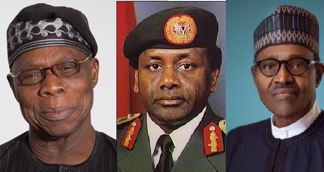 "Image result for ""Buhari is behaving like Abacha, planning to rig election – Obasanjo blows hot in new Letter"