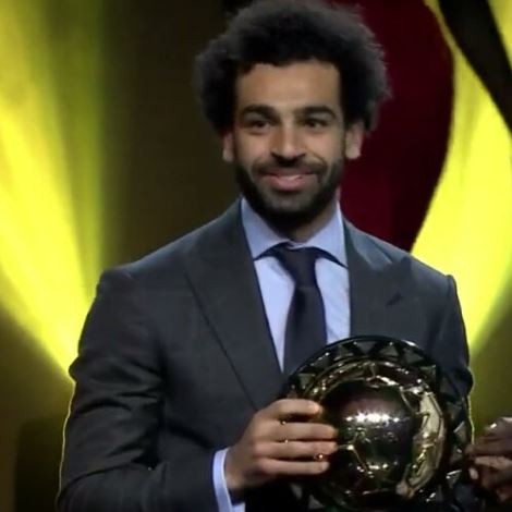 CAF African Player of the Year goes to Mohamed Salah again