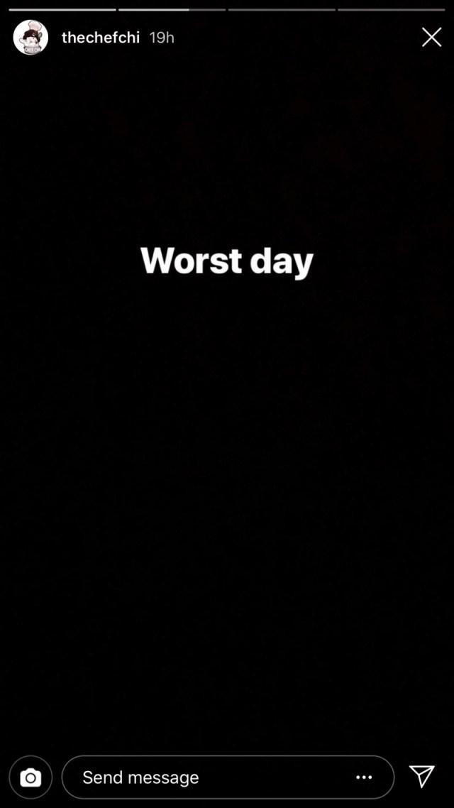 Chioma deletes Instagram Account