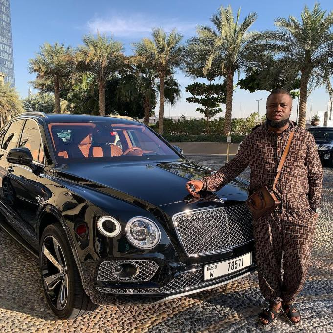 Hushpuppi buys Bentley Bentayga worth N74 million for Valentine