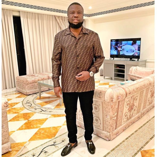 Hushpuppi buys Bentley Bentayga