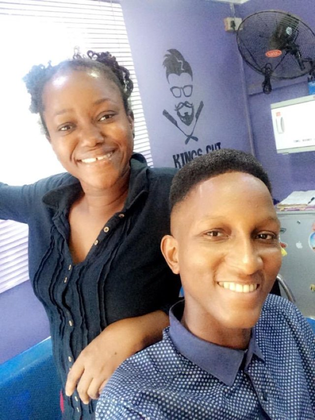 Nigerian female barber