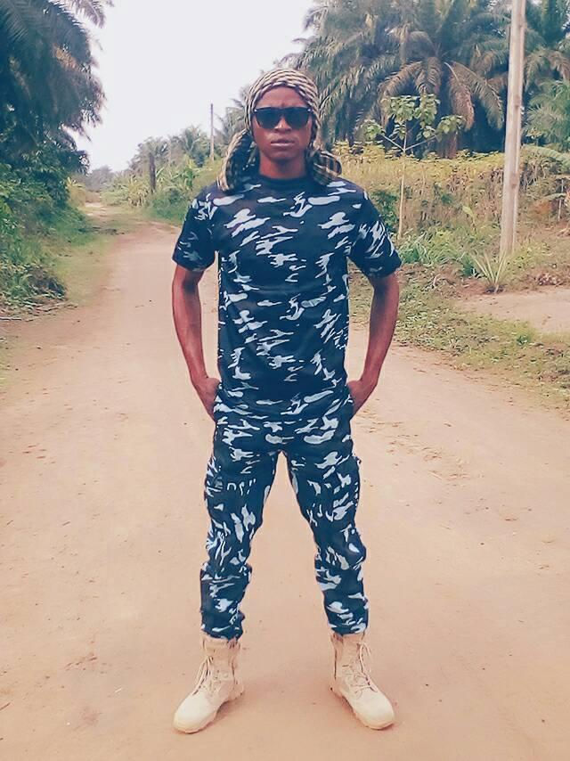 Nigerian soldier stationed