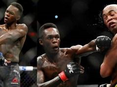 Isreal Adesanya defeats Anderson Silva