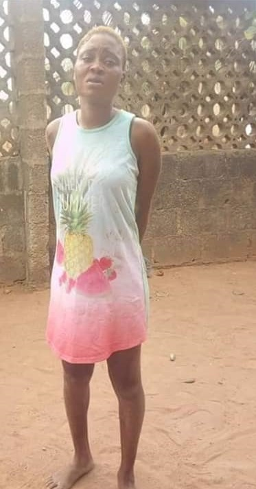 Photos:Nigerian female ex-convict breaks into home to steal panties and bras in Ogun state
