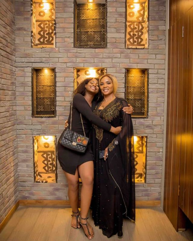 Iyabo Ojo's daughter, Priscilla apologizes to her for hitting the Strip club to celebrate her Birthday