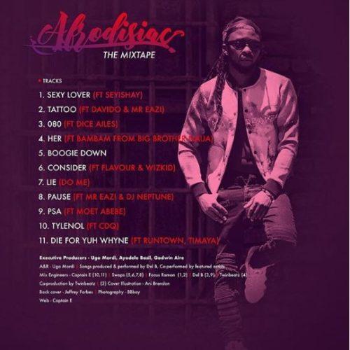 Music: Del B – Consider ft. Flavour & Wizkid