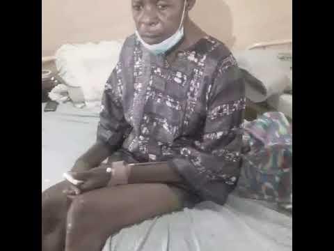 Fadeyi Oloro hospitalized