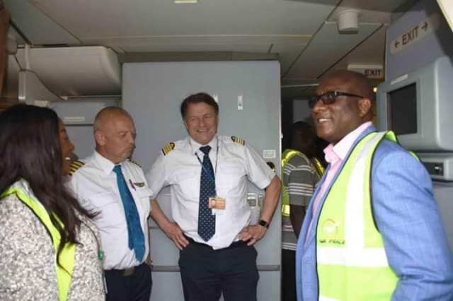 Air Peace Acquires New Boeing 777-300 Aircraft