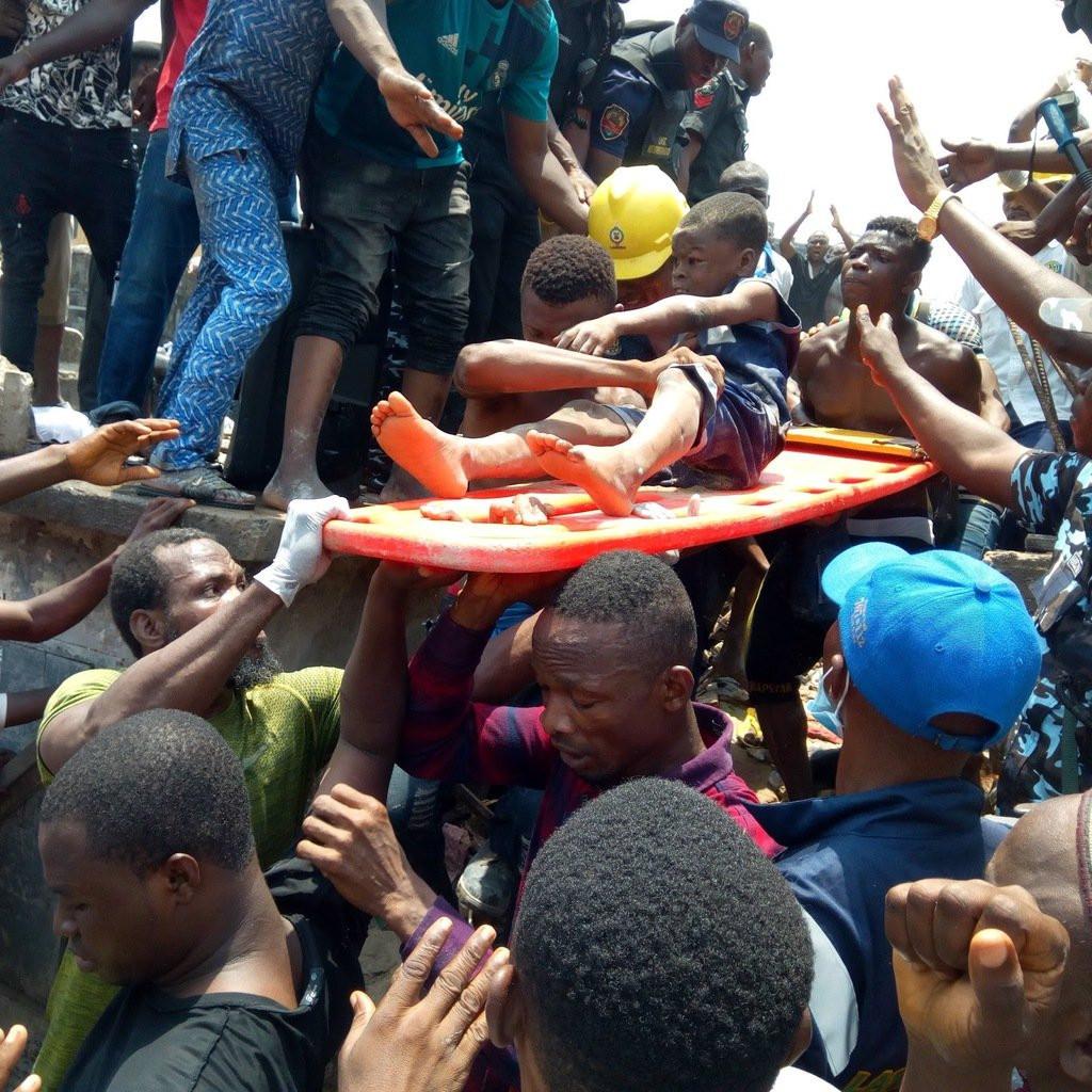 Lagos school building collapse