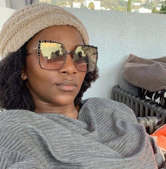 Genevieve Nnaji and a fan disagree over her post on 'boys objectification