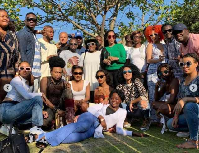 Photos From Juliet Ibrahim 33rd Birthday Party