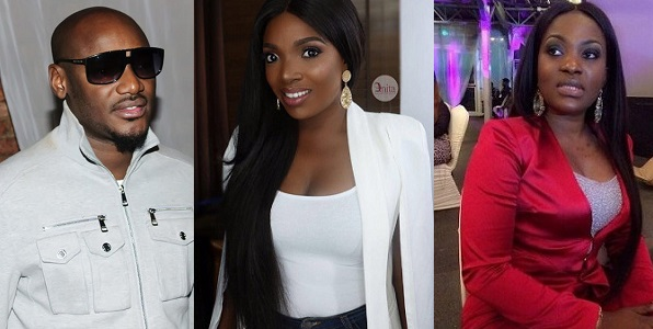 Annie Idibia Pero Adeniyi throw shades