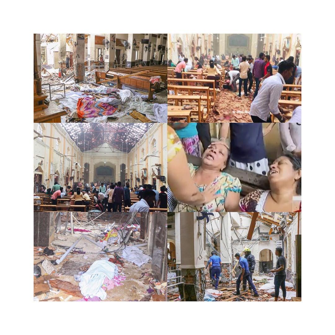 Over 156 people dead as multiple bombs hit churches in Sri Lanka