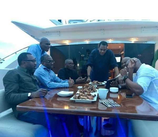 Aliko Dangote's ₦15.5billion luxury yacht