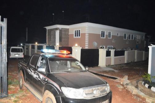 EFCC arrests 32 Yahoo Boys hiding inside chairs in Laderin, Ogun state 2