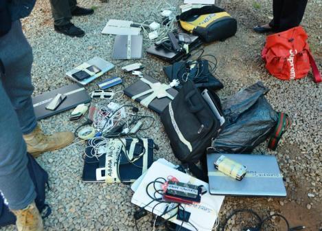 EFCC arrests 32 Yahoo Boys hiding inside chairs in Laderin, Ogun state 4