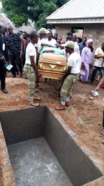 Corps member dies mysteriously