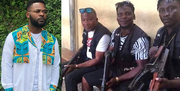 "Image result for ""What's the difference between these SARS guys and armed robbers and assassins?"" – Falz The Bahd Guy asks"