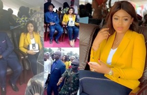 Regina Daniels makes first public appearance with her husband