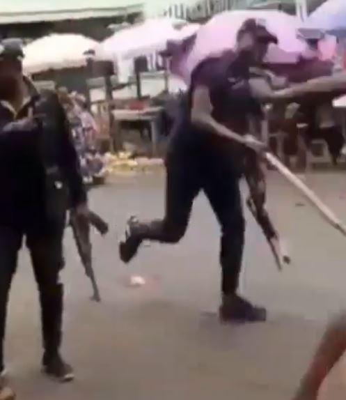 SARS officials harass young man