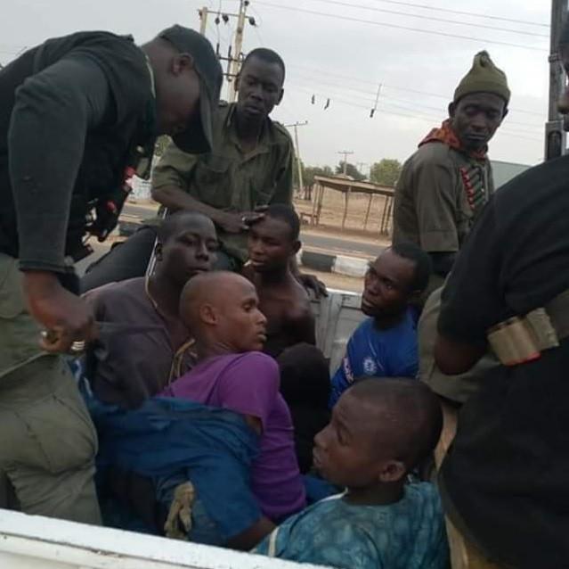 captures 13 Boko Haram terrorists alive