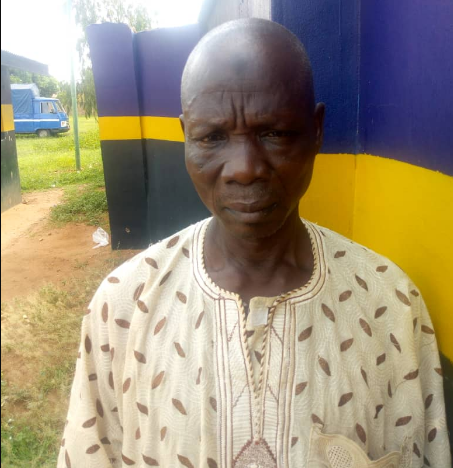 65-year-old man arrested
