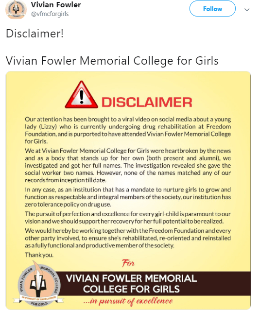 Vivian Fowler college