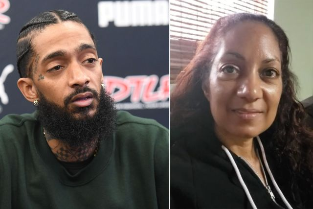 Nipsey Hussle's mother