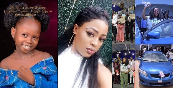 Image result for Stephanie, Who Made Success' Viral Video Gets A Car And More Money From Prophet Jeremiah Omoto.