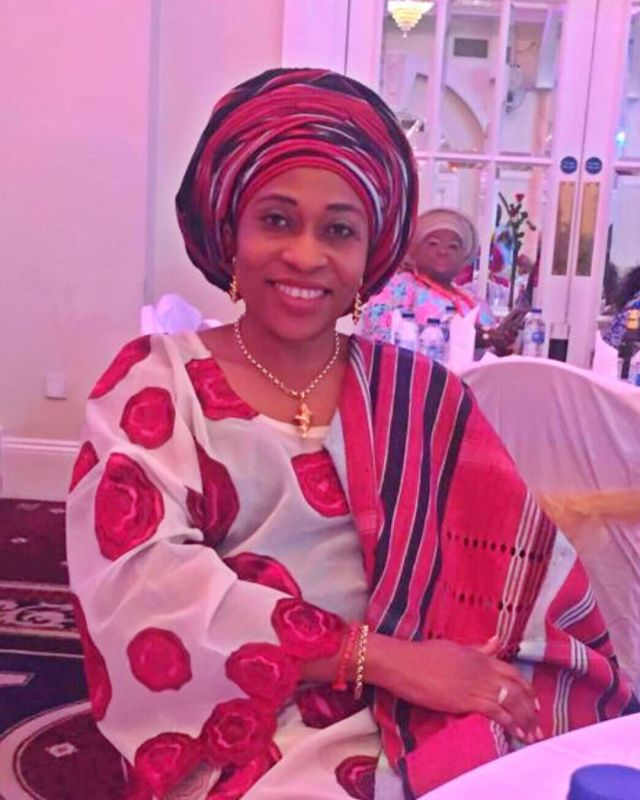 Olakunle Churchill celebrates mother