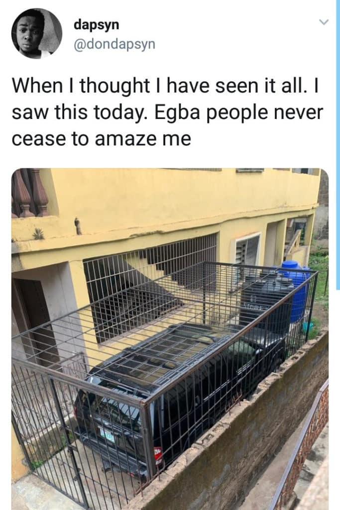 Nigerian man takes extreme measure