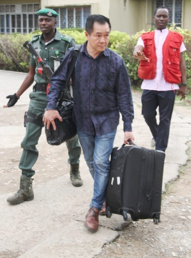 EFCC Arrest Malaysian