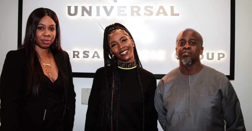 Tiwa Savage Signs International Deal