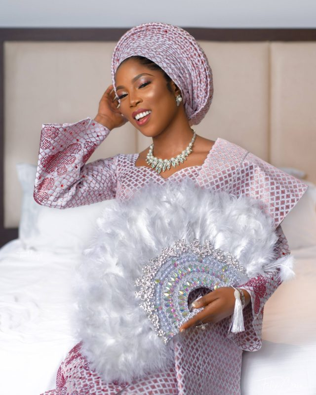 Tiwa Savage's Lookalike Gets Married